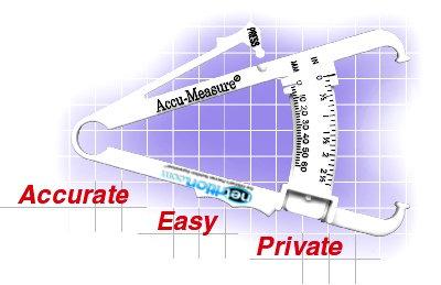 Accu-Measure Body Fat Calipers